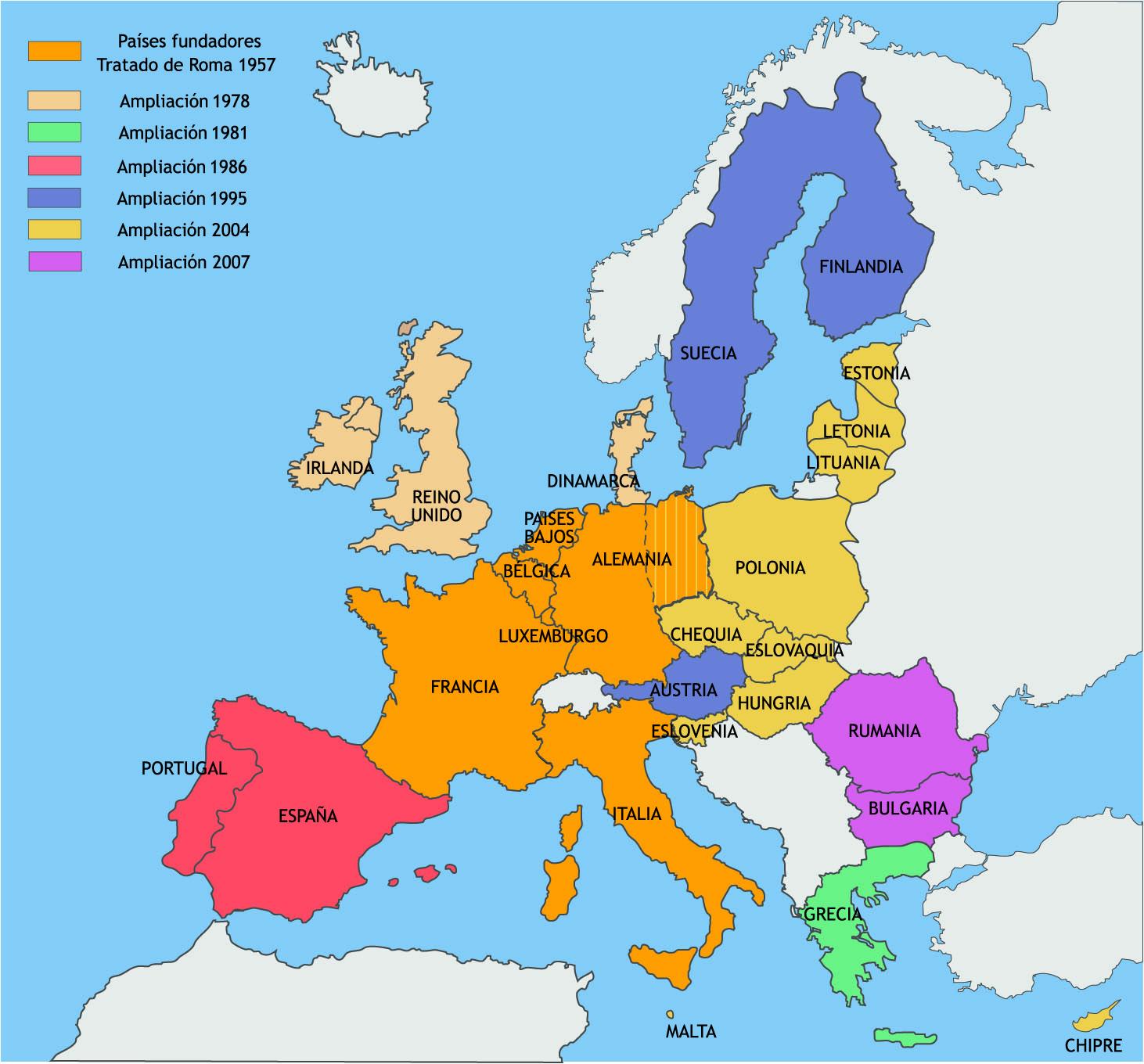 Espaa y La Unin Europea
